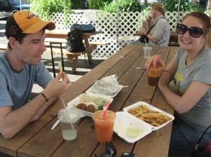 David, Emilie, Truffle Oil Fries